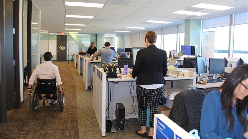Workplace accessibility