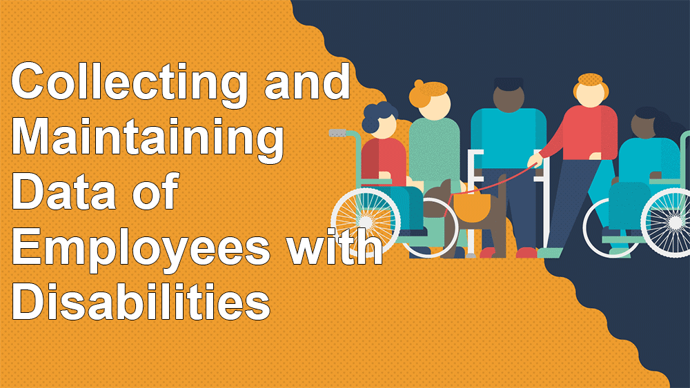 Collecting and Maintaining Data on employees with disabilities
