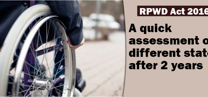 An assessment of the Rights of Persons with Disabilities (RPWD) Act 2016